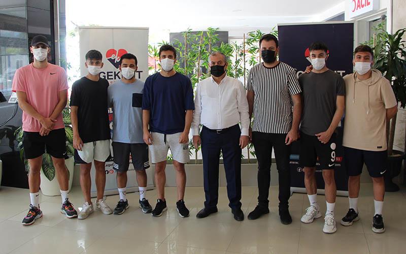Egekent'ten Kızılcabölükspor'a sağlık desteği