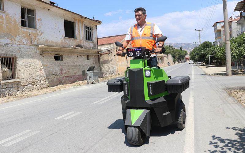 Güvenlikçiler için elektrikli araç üretildi