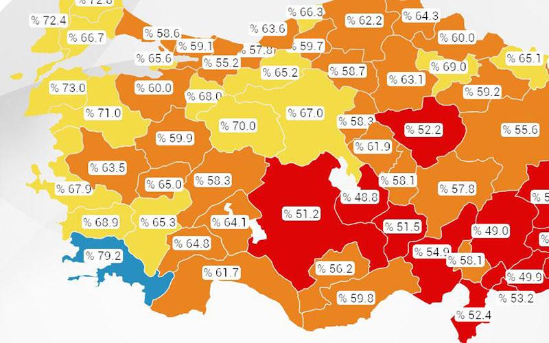 Denizli'de nüfusun yüzde 65,3'üne covid-19 aşısı yapıldı