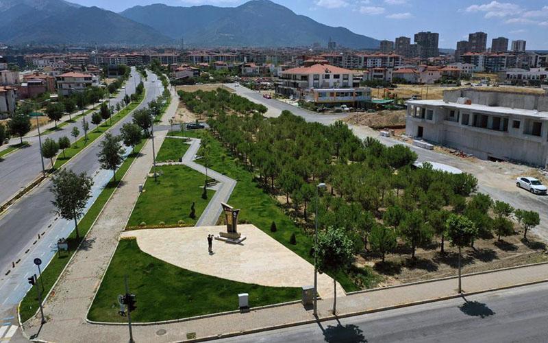 Merkezefendi Belediyesi ilçeye yeni parklar kazandırıyor