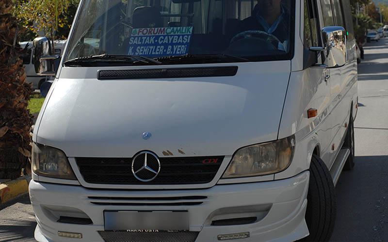Minibüslerin yolcu taşıma ücretine zam yapıldı
