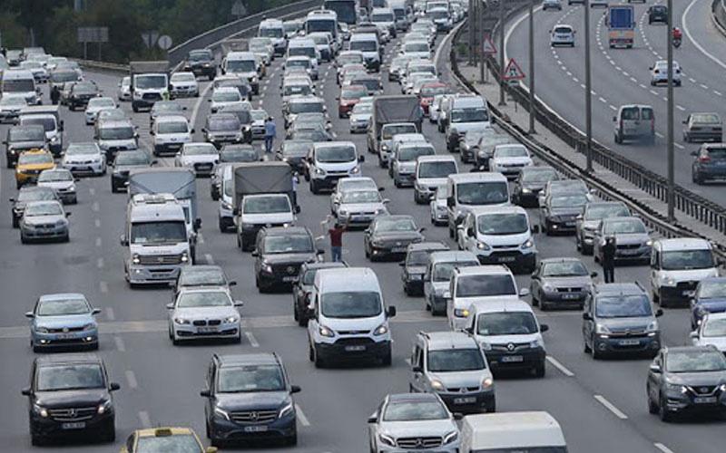 Motorlu taşıt sayısı 436.144 oldu