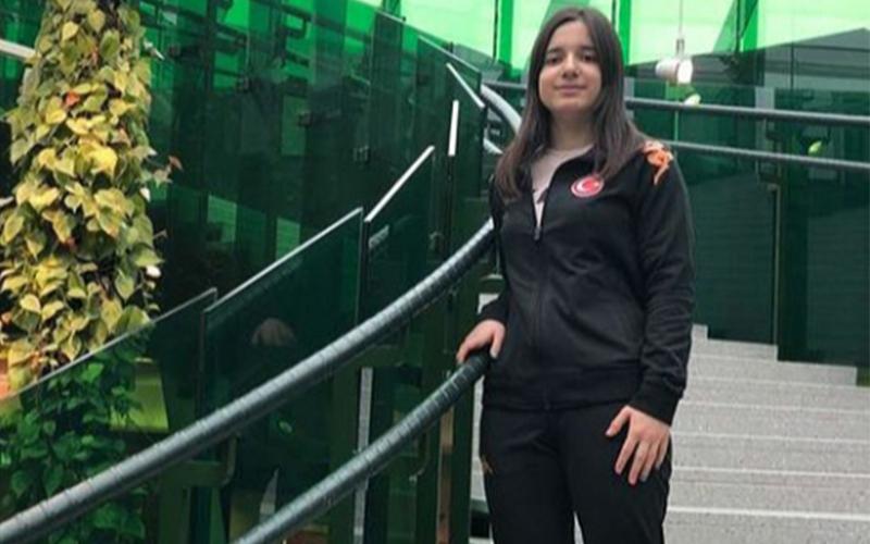 PAÜ öğrencisi Şeyda Nur, Tokyo 2020 Olimpiyatları'nda yarışacak