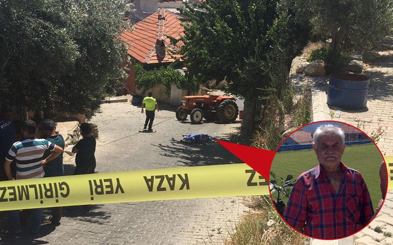 Kullandığı traktörün altında kalan sürücü öldü