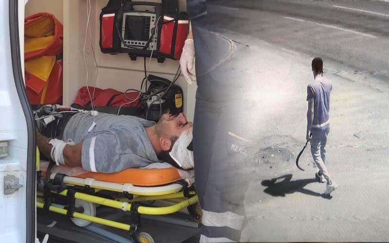 Yol kavgasında 2 kişi yaralandı