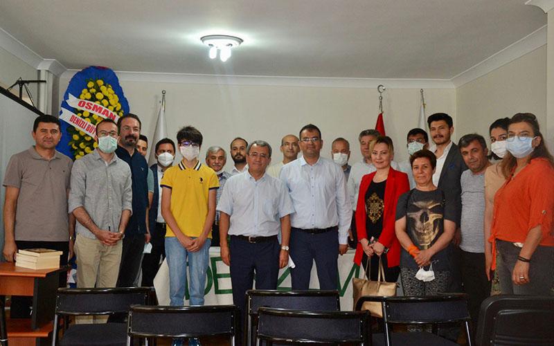 Ankara'daki Denizlim Derneği Başkanlığına Keysan yeniden seçildi