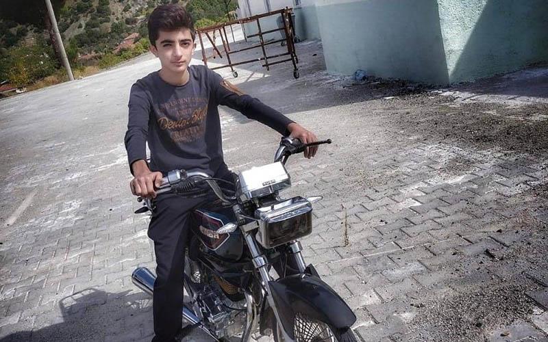 Motosiklet sürücüsü kaza kurbanı