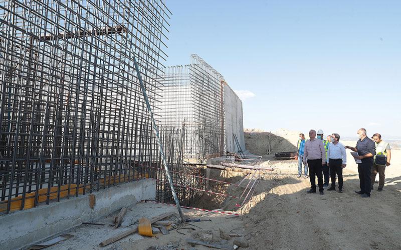 Akbaş'tan gelecek suyun dağıtımı için 5 bin tonluk su deposu