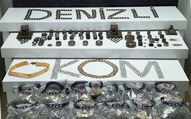 Altınların gramaj ve ayarını düşürerek piyasa süren 4 kişi yakalandı