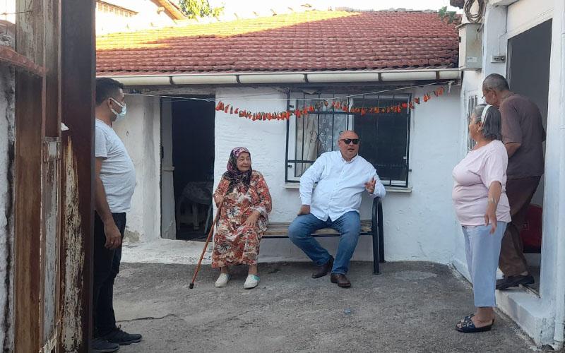 Şevik, Kurtuluş Mahallesi'nde vatandaşlarla buluştu