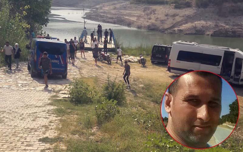Baraj gölüne giren kişi kayboldu