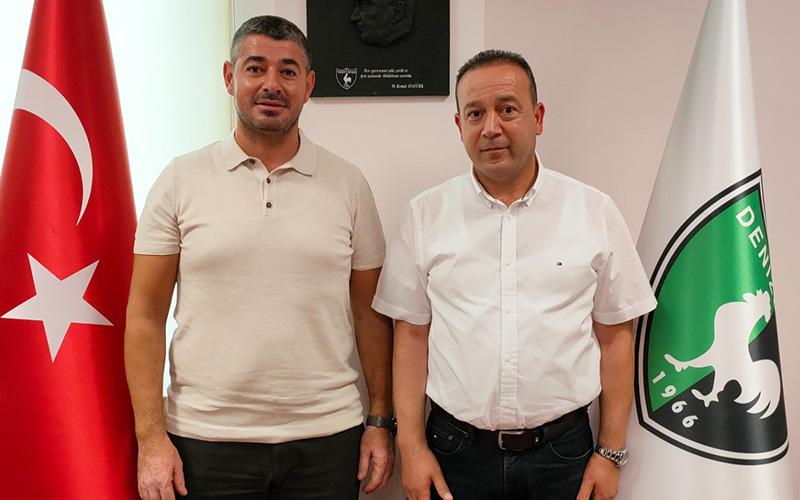 İnceören, Denizlispor Yönetim Kurulu'na katıldı