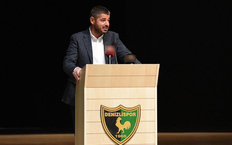Denizlispor Başkanlığına Mehmet Uz seçildi