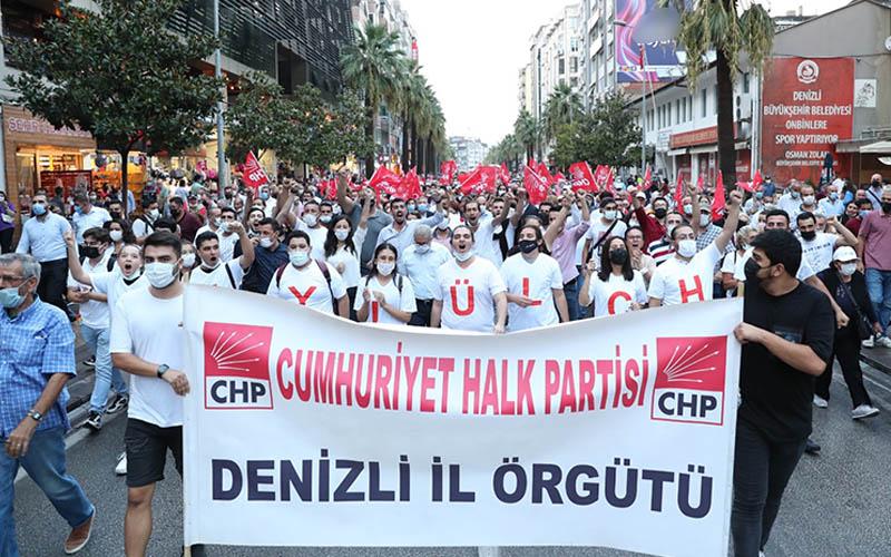 CHP 98. Kuruluş yıldönümünü kutladı