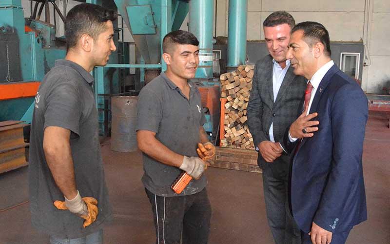 DTO Başkanı Erdoğan, üye ziyaretlerini sürdürdü