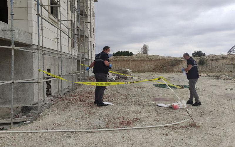 Ailesiyle tartışma sonrası çıktığı inşaatın 5.katından düştü