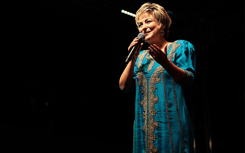TRT sanatçısı Eliz Avaroğlu'ndan TSM konseri