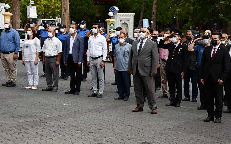 Buldan'da 19 Eylül Gaziler Günü kutlandı