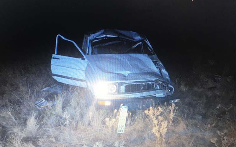 Kontrolden çıkan otomobil takla attı, sürücüsü öldü