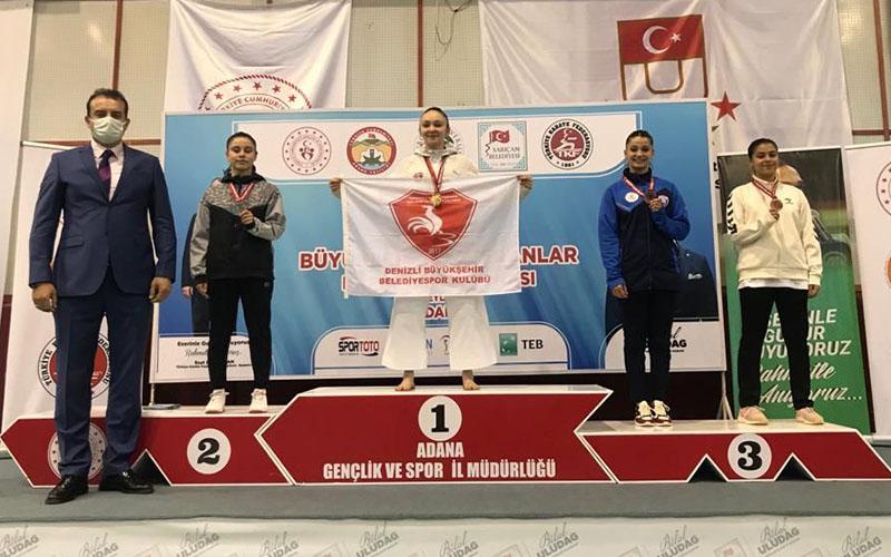 Damla Su Türemen, karatede Türkiye şampiyonu