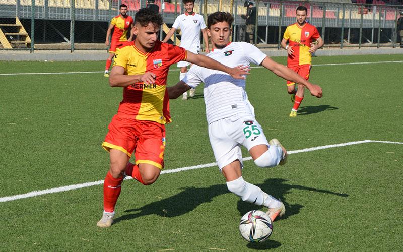 Kızılcabölükspor, Bayrampaşaspor ile 1-1 berabere kaldı