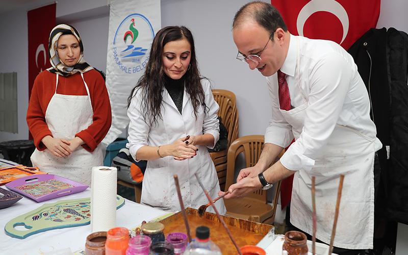 Pamukkale Belediyesi'nin kış dönemi kurslarında son başvuru tarihi 5 Ekim
