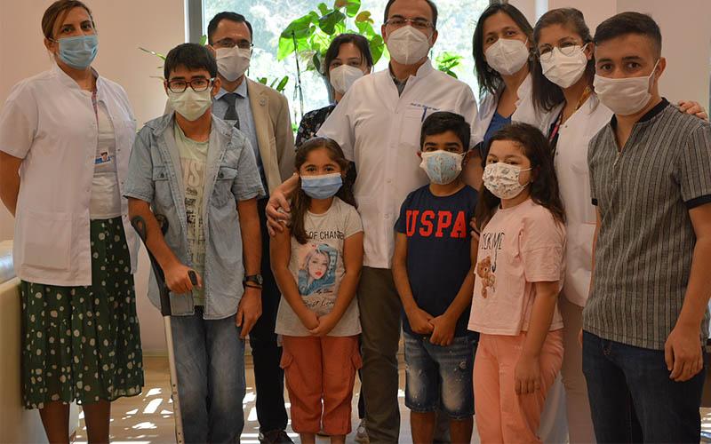 Çocuklar, PAÜ Hastanesinde organ nakliye yaşama tutundu
