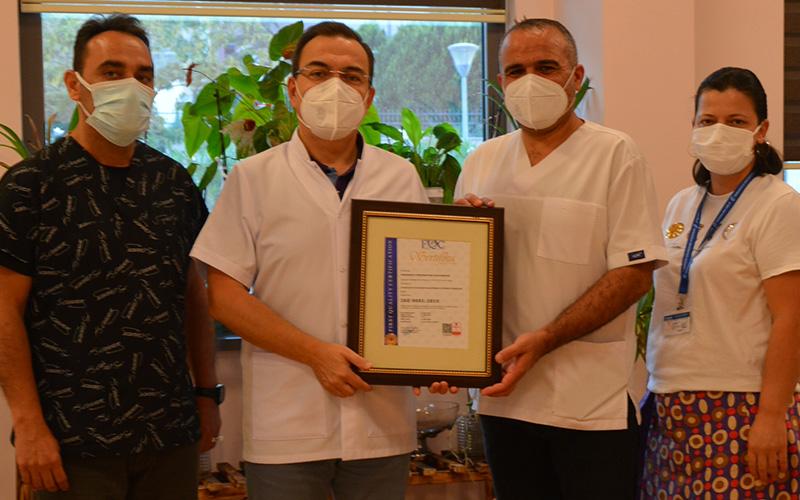 PAÜ Hastanesi, bilgi güvenliği ve kalite yönetim belgelerini aldı
