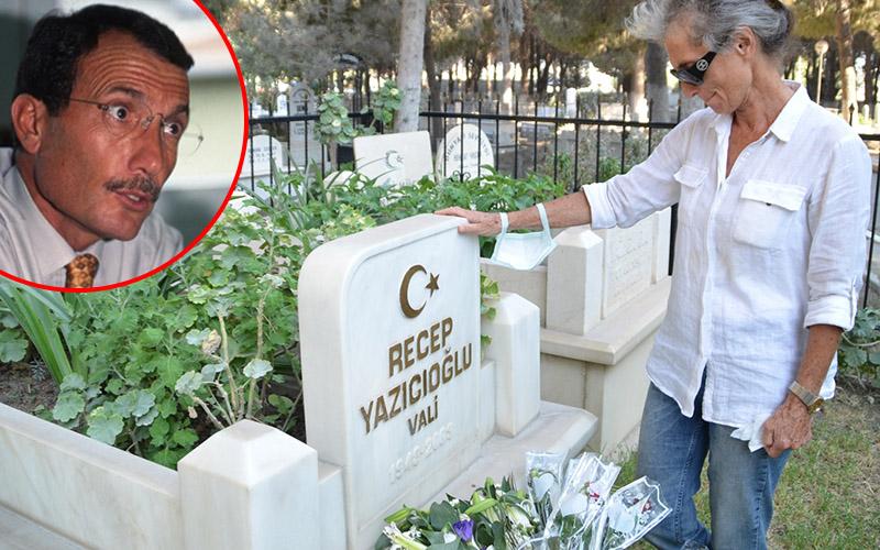 """""""Efsane Vali"""" Yazıcıoğlu vefatının 18. yılında kabri başında anıldı"""