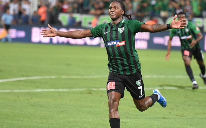 Denizlispor'un eski golcüsü Hugo Rodallega, Brezilya'yı salladı