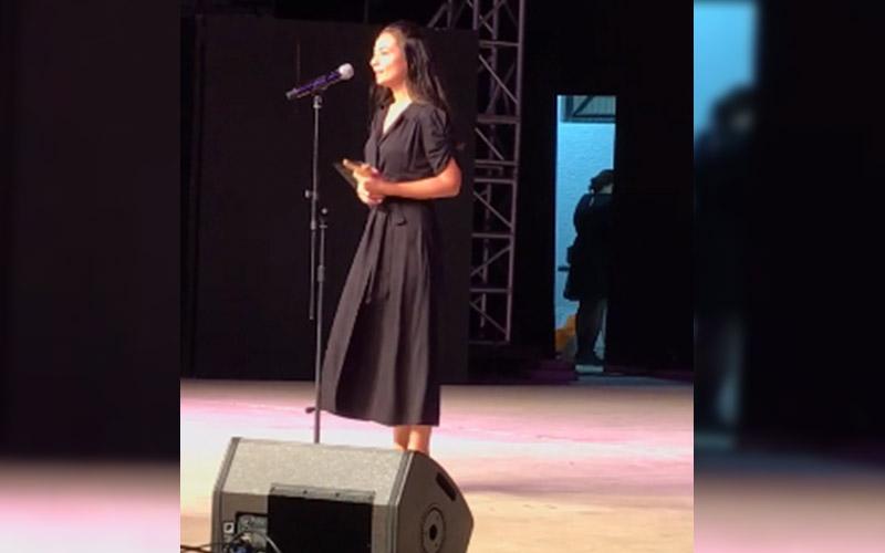 Denizlili tiyatro sanatçısı Sezen Keser'e 'En İyi Çıkış Yapan Kadın Oyuncu' ödülü