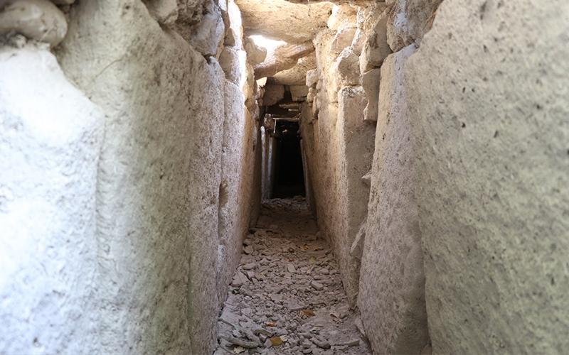 Antik kent Tripolis'te 2000 yıllık kanalizasyon hattı