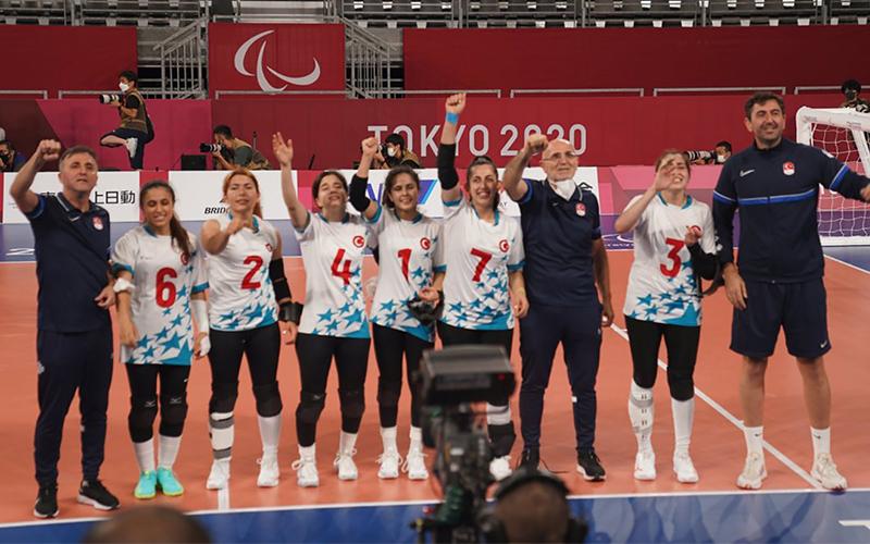 Şeydanur'lu Goalball Milli Takımı olimpiyat şampiyonu oldu