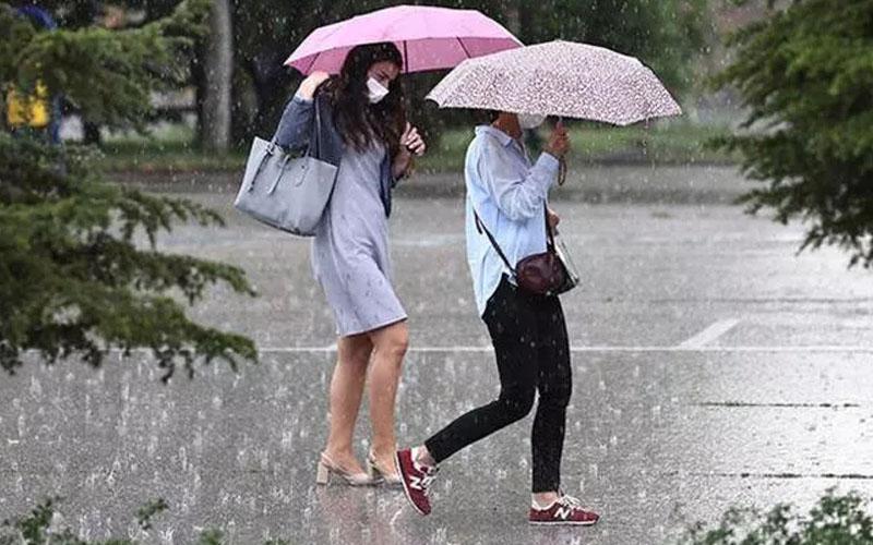 Meteorolojiden 4 ilçeye yağmur haberi