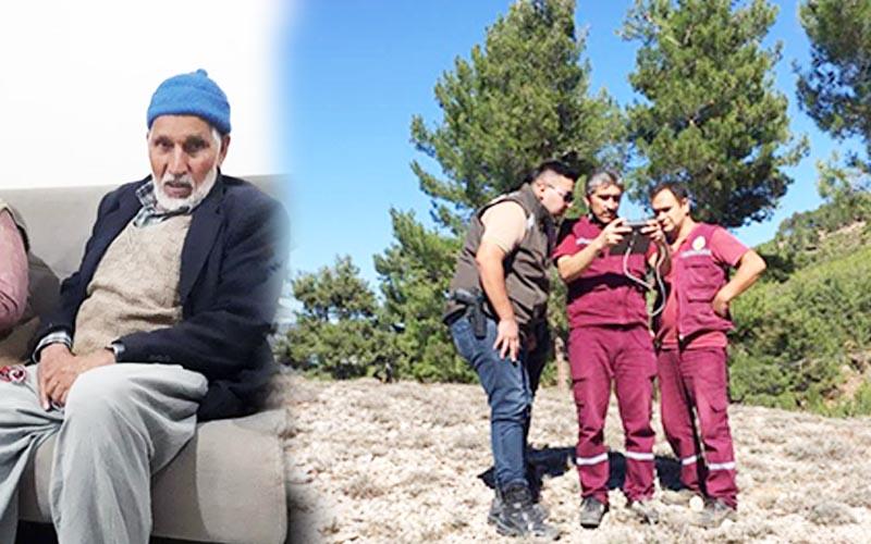 Kaybolan alzheimer hastası drone kullanılarak bulundu