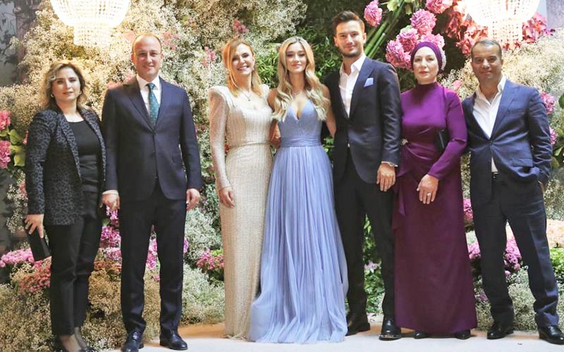 Galatasaraylı Oğulcan Çağlayan, Denizli'de nişanlandı