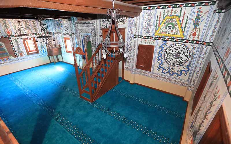 Restore edilen  137 yıllık Belenardıç Camisi yeniden ibadete açıldı