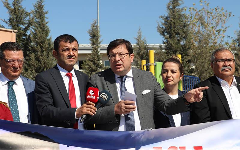 CHP'li Erkek: Siyaset yapanlar en ağır eleştiriyi göğüslemek zorunda
