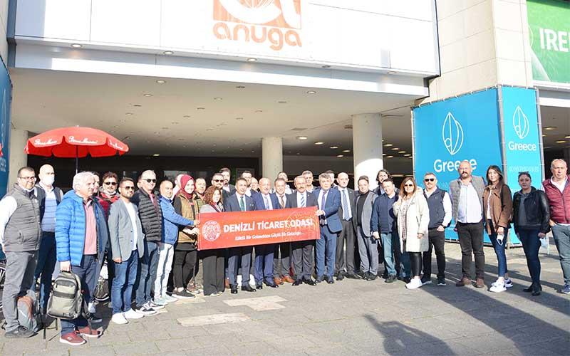 DTO Başkanı Erdoğan ve beraberindeki heyet Almanya'da