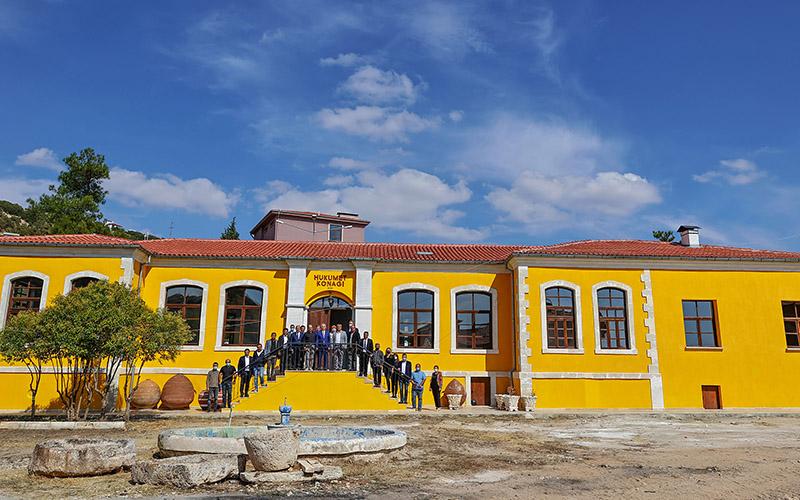 85 yıllık Güney Hükümet Konağı restorasyonla ayağa kaldırıldı
