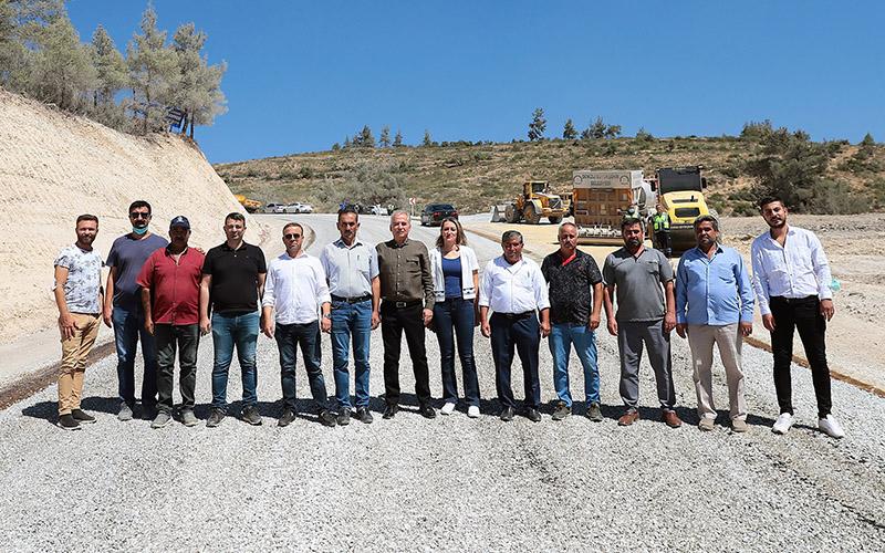 Büyükşehir Belediyesi, Güzelpınar yolunu asfaltladı
