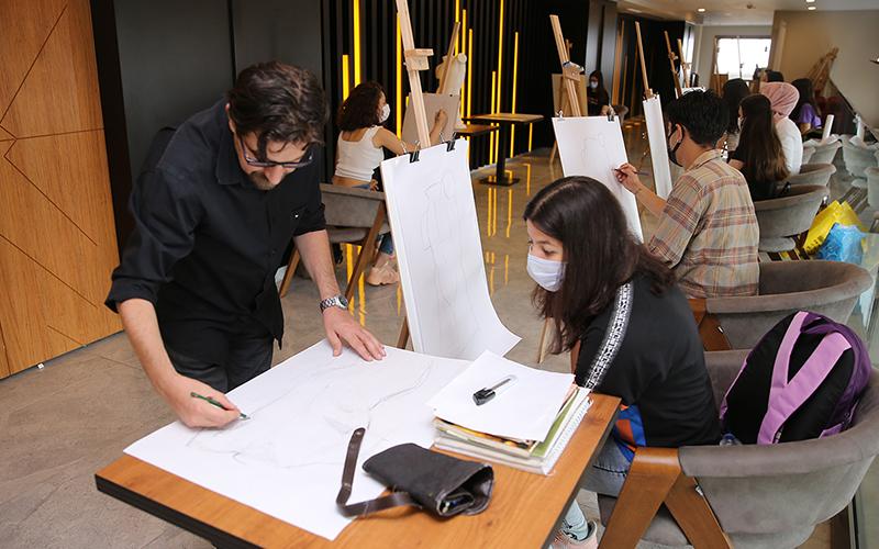 Merkezefendi Belediyesi akademik resim kursuna kayıtlar başladı