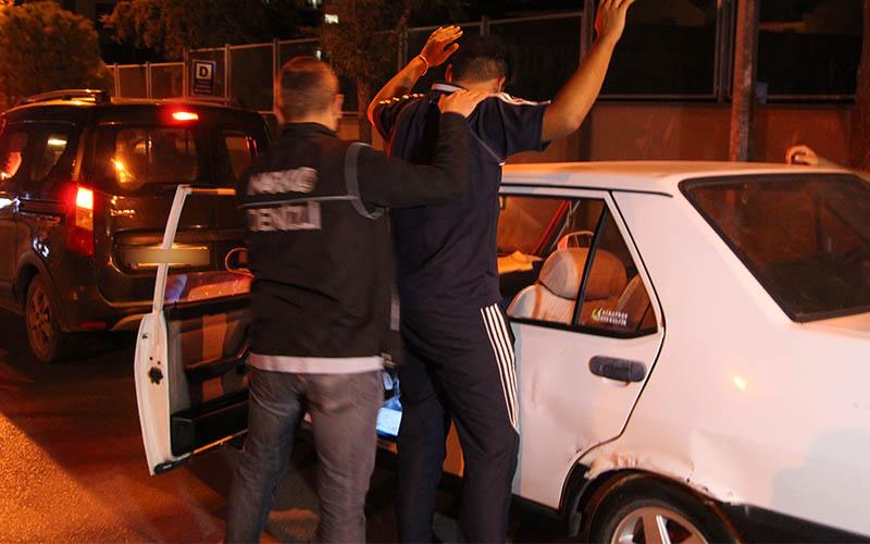 400 polisin katılımıyla  narkotik operasyonu