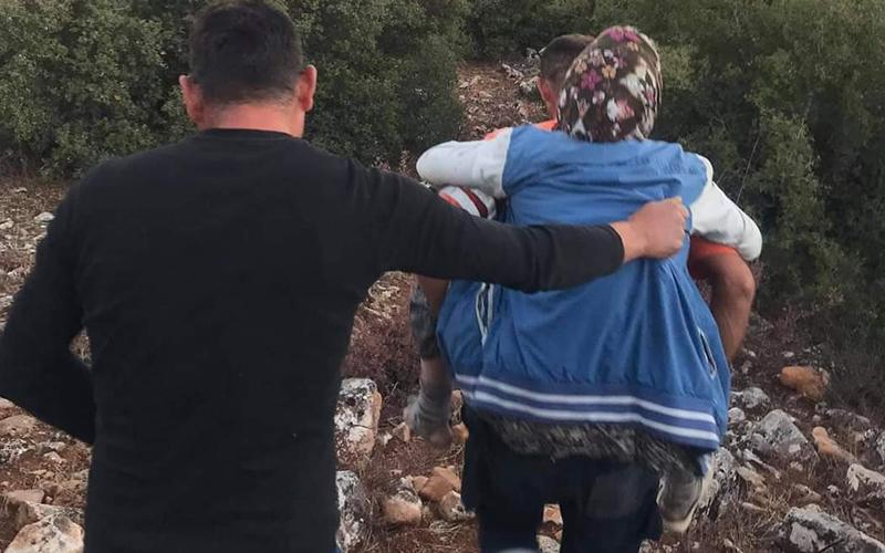 Hayvan otlatırken kaybolan kadın bulundu