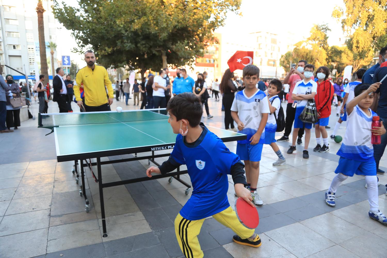 Örki: İlçemizi spor kenti yapacak projeleri hayata geçireceğiz